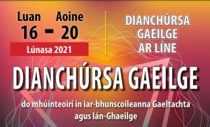 Dianchúrsa Gaeilge 2021